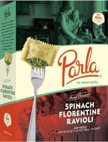 Parla Pasta Hand Chopped Spinach Florentine Ravioli