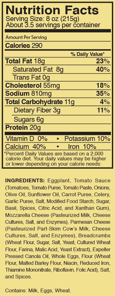 parla Eggplant Parmesan product image